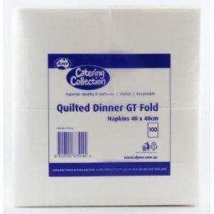 Paper Dinner Napkin White (100 Pack)