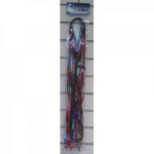 Metallic Pre Cut & Clipped Ribbon Mixed (25 Pack)