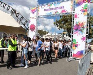 Entrance Gate for Festivals Hire