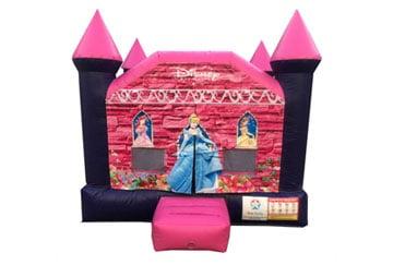 Princess Jumping Castle 3mx3m Hire