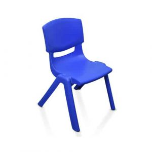 Kids Blue Plastic Chair