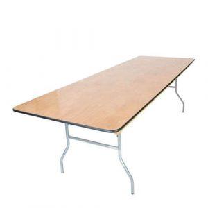 Wooden Trestle Tables (2.4m)