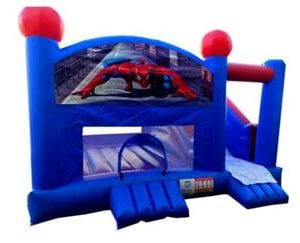 Spiderman Jumping Castle Hire