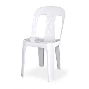 White Plastic Chair Hire