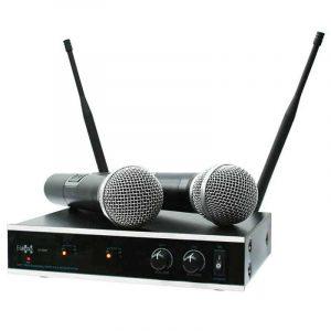 wireless microphone set