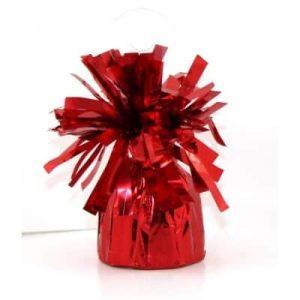 Balloon Weight Metallic Red